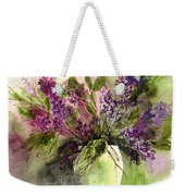 A Bouquet Of May-lilacs Weekender Tote Bag