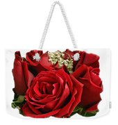 A Bouquet Of Red Roses Weekender Tote Bag