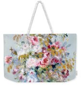 A Bouquet Of Roses Weekender Tote Bag