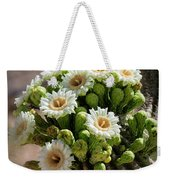 A Bouquet Of Saguaro Blossoms Weekender Tote Bag