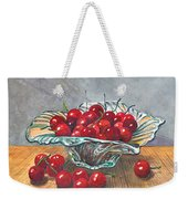 A Bowl Full Of Cherries Weekender Tote Bag