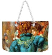 A Box In The Theater Des Varietes 1898 Weekender Tote Bag