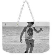 A Boy And His Beach Weekender Tote Bag