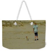 A Boy And His Pug Weekender Tote Bag