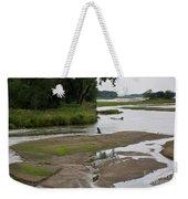 A Braided River Weekender Tote Bag