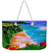 A Breezy Day At Rhosilli Bay Weekender Tote Bag