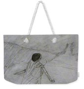 A Bride Waiting For Her Groom Weekender Tote Bag