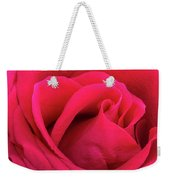 A Bright Pink Rose Close-up Weekender Tote Bag