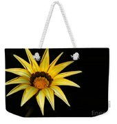 A Bright Yellow Star Weekender Tote Bag