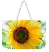 A Bright Yellow Sunflower Weekender Tote Bag