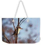 A Brown-hooded Kingfisher  Weekender Tote Bag