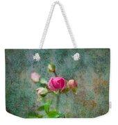 A Bud - A Rose Weekender Tote Bag