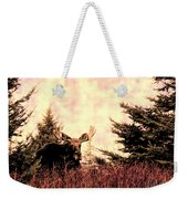 A Bull Moose Dream Weekender Tote Bag
