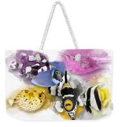 A Bunch Of Colorful Fish No 01 Weekender Tote Bag