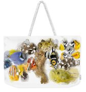 A Bunch Of Colorful Fish No 05 Weekender Tote Bag
