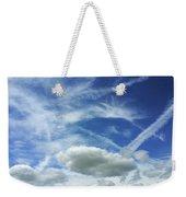 A Busy Sky Weekender Tote Bag