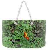 A Butterfly In The Garden Weekender Tote Bag