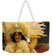 People Series - A C Showgirl Weekender Tote Bag