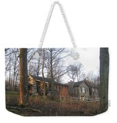 A Cabin On The Hill Weekender Tote Bag
