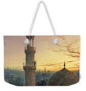 A Call To Prayer Weekender Tote Bag