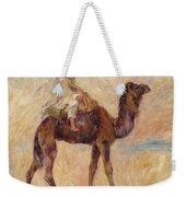 A Camel Weekender Tote Bag