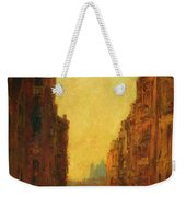 A Canal In Venice Weekender Tote Bag