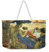 A Canoe Weekender Tote Bag