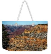 A Canyon Winter Weekender Tote Bag