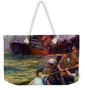 A Careless Word A Needless Sinking Weekender Tote Bag