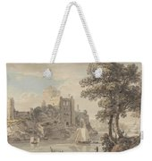 A Castle On A River Weekender Tote Bag