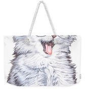 A Cat With Glasses Weekender Tote Bag