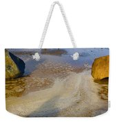 A Cautious Shadow Weekender Tote Bag