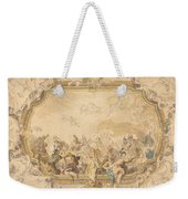A Ceiling With Apollo Presiding Over Military And Historical Learning Weekender Tote Bag