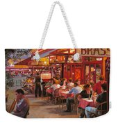 A Cena In Estate Weekender Tote Bag