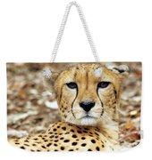 A Cheetah's Portrait Weekender Tote Bag
