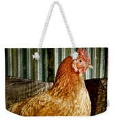 A Chicken Named Rembrandt Weekender Tote Bag