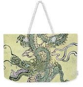 A Chinese Dragon Weekender Tote Bag