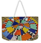 A Chip Off The Ole Mosaic Weekender Tote Bag
