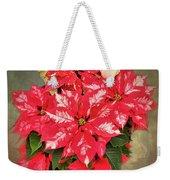 A Christmas Flower Weekender Tote Bag