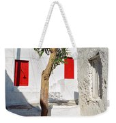A Church And A Tree Weekender Tote Bag