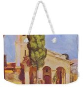 A Church At Cagnes Weekender Tote Bag
