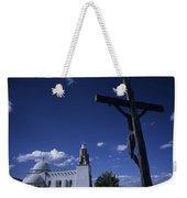 A Church In Colorado Displaying Weekender Tote Bag