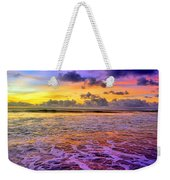 A City In The Clouds Weekender Tote Bag