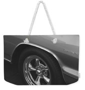A Classic In Classic Black And White Weekender Tote Bag