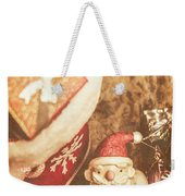 A Clause For A Merry Christmas  Weekender Tote Bag