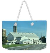 A Clear Amish Day Weekender Tote Bag