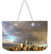 A Cloudscape And Its Cityscape Weekender Tote Bag