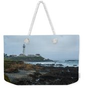 A Cloudy Day At Pigeon Point Weekender Tote Bag