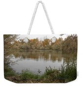A Cloudy Day On The Pond Weekender Tote Bag