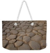 A Cobblestone Road In Rome Weekender Tote Bag